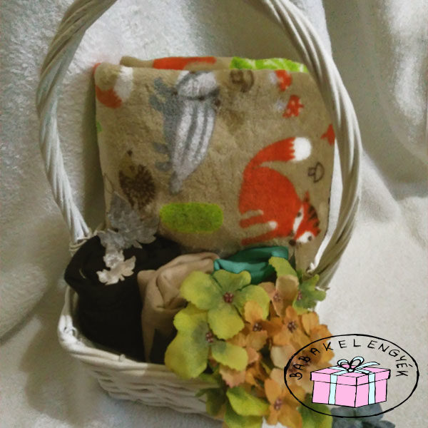 kisfiú erdei babakelengye őszi babáknak