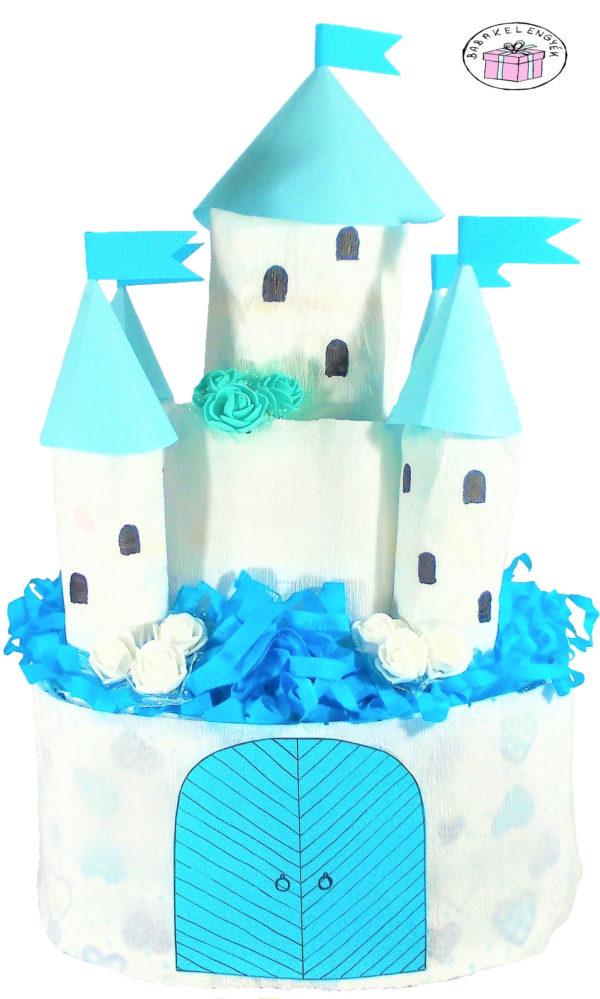 kisfiús kastély pelenkatorta